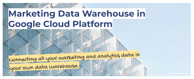 marketing data warehouse in google cloud platform